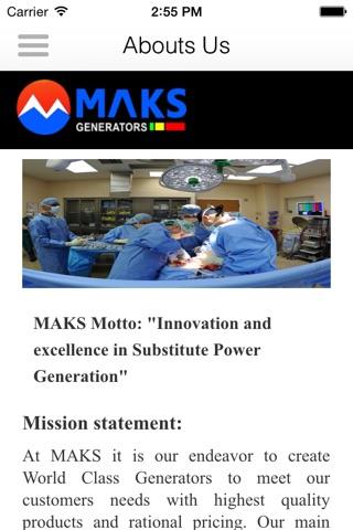 Maks generators screenshot 2