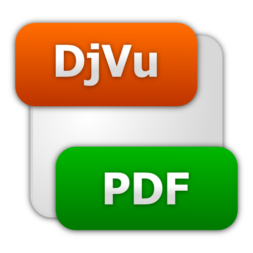 将DjVu转换为 PDF DjVu To PDF Converter For Mac