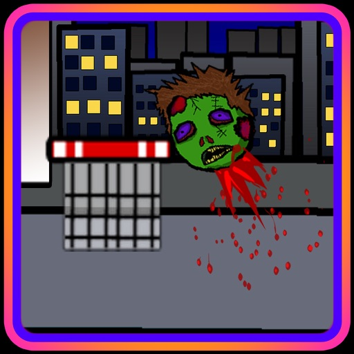 SHOOT THE ZOMBIE HEAD (a halloween basketball shot game) iOS App