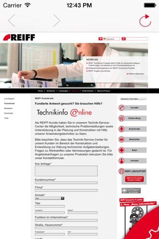 REIFF Technik screenshot 4