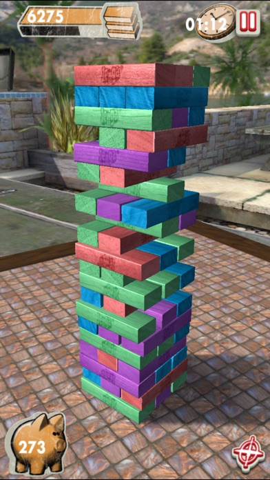 Screenshots of Jenga for iPhone