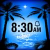 Paradise Island Alarm Clock
