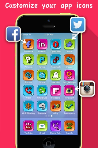 Skin My Icons- Home Screen Icons,Icons Skin screenshot 1