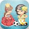 Принцесса против Amela суперзвезд льда футбольные матчи