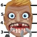 Monstro Zombie celebridade Adivinha Suspensórios Mugshot Dentes Dentista Crianças HD icon