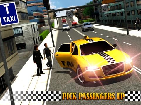 Screenshot #6 pour Modern Taxi Driving 3D
