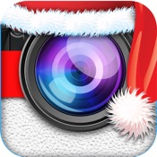 Santa Claus Merry Christmas Photo Camera Booth