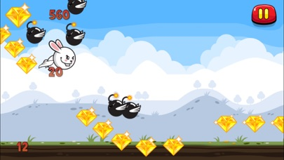 download Aaah! It's Flappy the Crazy Rabbit Vs Angry Clumsy Bombs! Christmas HD Free Edition apps 3