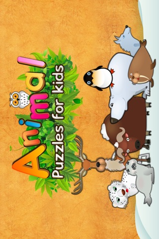Animal Puzzle For Kids screenshot 1