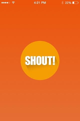 Shout for Messenger screenshot 1