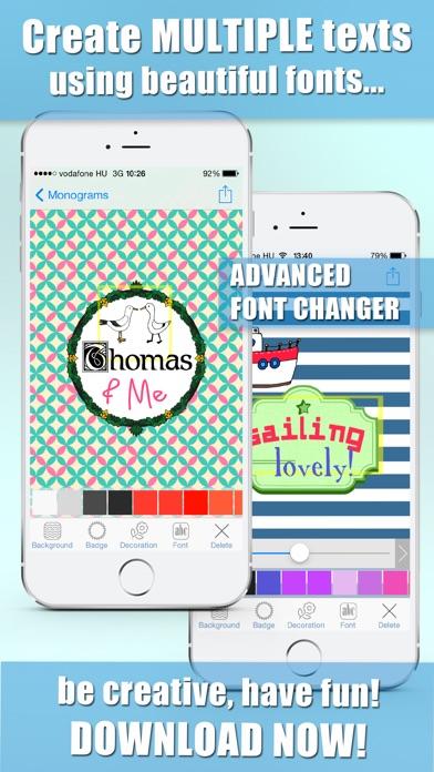iMonogram - Monograms... screenshot1