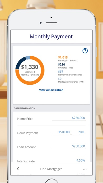 Mortgage  Payment Calculator Home Loans  Rates On The App Store