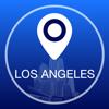 Guía de Los Angeles Offline Mapa + Ciudad Navegador, Atracciones y Transportes
