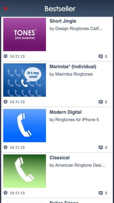 Ringtones iPhone for mobile phone - FreeTone