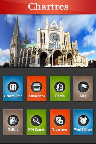 Chartres Offline Travel Guide screenshot 2