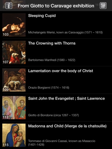 Screenshot #5 pour From Giotto to Caravaggio. The passions of Roberto Longhi HD