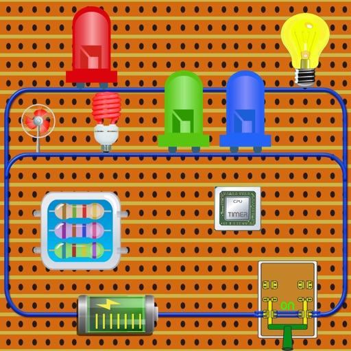 Circuit Electronic Kits Design iOS App