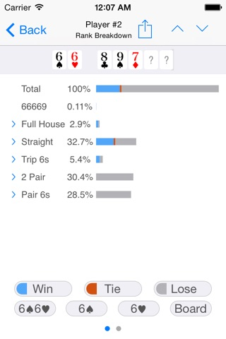 Poker Odds Pro screenshot 2