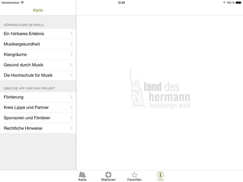Hörparcours Detmold Screenshot