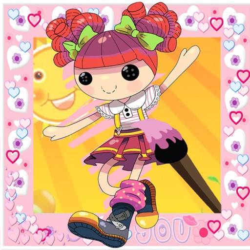 Kids Coloring Books for Lalaloopsy Edition iOS App