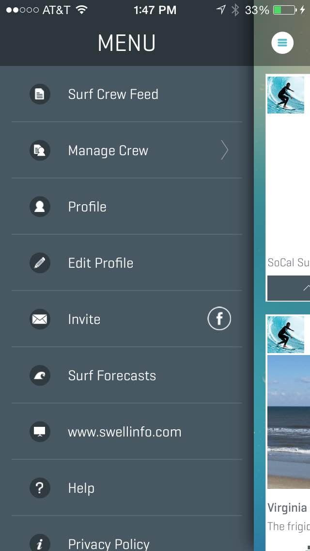 Swell Info Surf Crew screenshot three