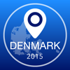 Denmark Offline Map + City Guide Navigator, Attractions and Transports