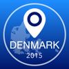 Guía de Dinamarca Offline Mapa + Ciudad Navegador, Atracciones y Transportes