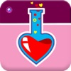 Love Pics Lab - A Photo Editor With Cool Stickers,Meme & Hearts For Valentine Day Lol Card