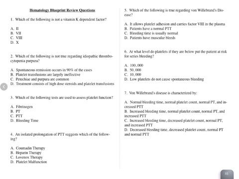 Hematology blueprint pance panre review por jeremy boroff pa c en captura de pantalla 2 malvernweather Images