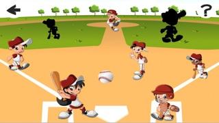 Screenshot of Una Partita di Baseball For Baby & Kids: Colouring Book & Puzzle Difficile Per i Bambini di Età da1