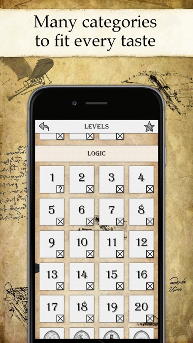 DaVinci Riddles Pro: Mystery Screenshots