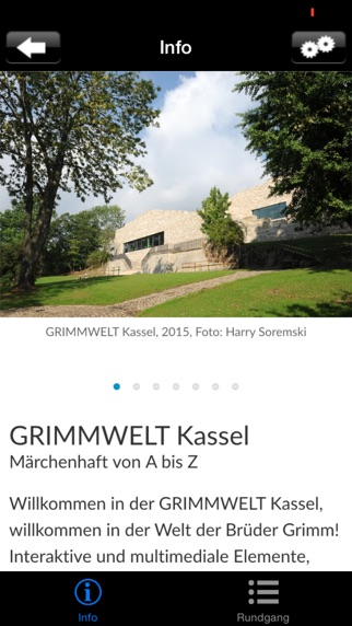 GRIMMWELT Kassel Screenshot