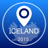 Iceland Offline Map + City Guide Navigator, Attractions and Transports