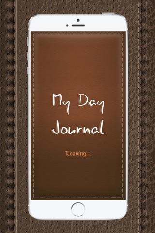 MyDay Journal screenshot 1