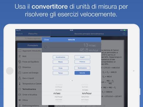 iFisica™ - Impara, ripeti e testa le tue abilità in fisica Screenshot