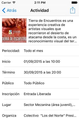 Biblioteca Regional Antofagasta screenshot 3