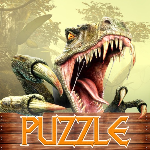 AAA Great Dino Park Puzzle Hunter Frenzy iOS App