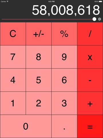 Decimal Calculator (No Ads, Links or IAP) Screenshot 2