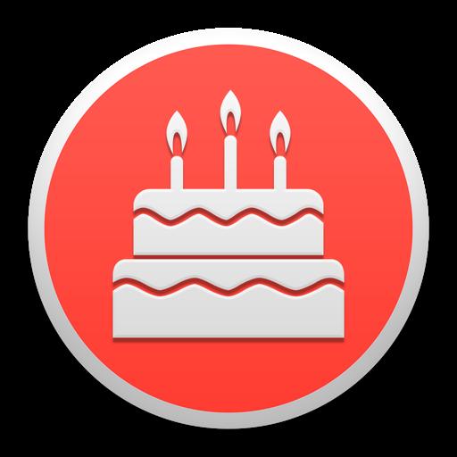 Birthdays - Widget for upcoming birthdays at a glance