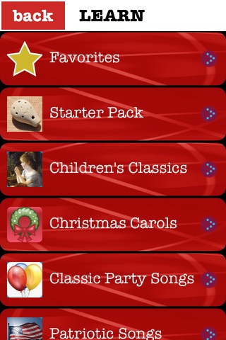 Ocarina with Songs screenshot 1