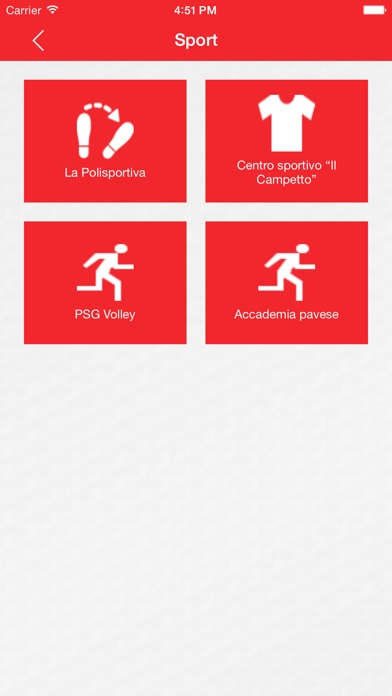 Screenshot of APP San Genesio3
