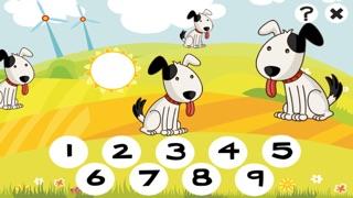 Actif! Jeux Pour Les Enfants Avec Les Animaux de la Ferme: Apprendre de Compter le Nombre 1-10Capture d'écran de 1