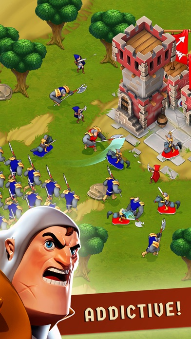 Screenshots of War of Empires : Clash of the Best by Fun Games For Free for iPhone