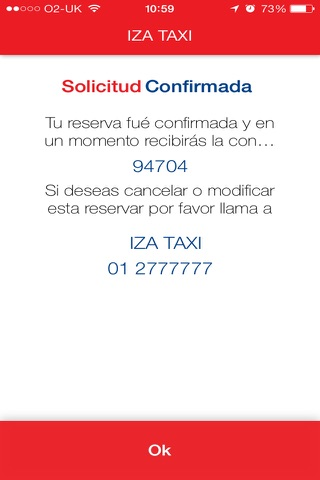 IZA TAXI 2777777 screenshot 4