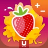 Juicy Math - Addition and Subtraction. Elementary mathematics for children – add, subtract and solve quizzes