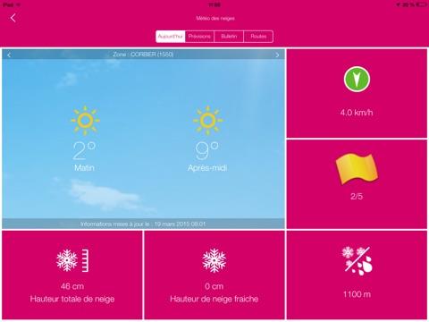 Les Sybelles pour iPad screenshot 4