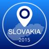 Slowakei Offline Karte + Stadtführer Navigator, Sehenswürdigkeiten und Verkehr