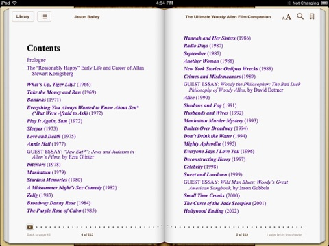 the ultimate woody allen film companion by jason bailey on ibooks screenshots