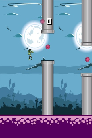A Legendary Voyage Of A Hopping Zombie screenshot 3