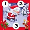 123 Das Zähl-Spiel für Kind-er mit Weihnachts-mann: Mein-e erst-e Gratis Mathe Übung-en